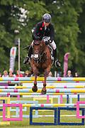 Jalapeno III ridden by Gemma Tattersall in the Equi-Trek CCI-4* Show Jumping during the Bramham International Horse Trials 2019 at Bramham Park, Bramham, United Kingdom on 9 June 2019.