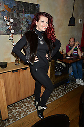 CLEO ROCOS at the 1st birthday of The House of Ho, 57-59 Old Compton Street, Soho, London on 22nd January 2015.