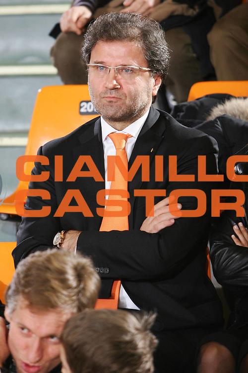 DESCRIZIONE : Udine Lega A1 2005-06 Snaidero Udine Vertical Vision Cantu <br /> GIOCATORE : Snaidero Presidente <br /> SQUADRA : Snaidero Udine <br /> EVENTO : Campionato Lega A1 2005-2006 <br /> GARA : Snaidero Udine Vertical Vision Cantu <br /> DATA : 05/02/2006 <br /> CATEGORIA : Ritratto <br /> SPORT : Pallacanestro <br /> AUTORE : Agenzia Ciamillo-Castoria/S.Silvestri