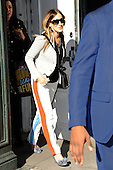 Sarah Jessica Parker leaving Bloomingdales