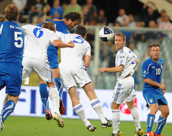 07.09.2010, Stadio Artemio Franchi, Florenz, ITA, UEFA 2012 Qualifier, Italia v Faer Oer, im Bild il gol di alberto gilardino.EXPA Pictures © 2010, PhotoCredit: EXPA/ InsideFoto/ Massimo Oliva *** ATTENTION *** FOR AUSTRIA AND SLOVENIA USE ONLY! / SPORTIDA PHOTO AGENCY