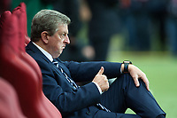 Football - World Cup 2014 Qualifier - Poland vs. England<br /> Roy Hodgson, England manager gives the thumbs up from the dug out at the National Stadium, Warsaw