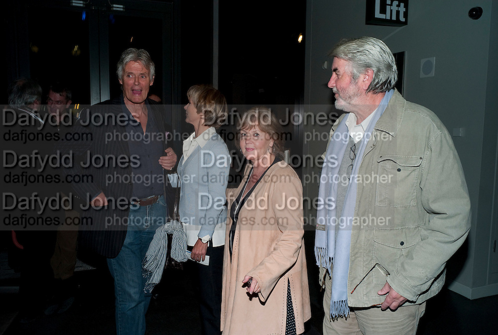 SIMON WILLIAMS; LUCY FLEMING; PAULINE COLLINS; JOHN ALDERTON, Enlightenment, Gala night, Hampstead Theatre, Swiss Cottage, London. 5 October 2010. -DO NOT ARCHIVE-© Copyright Photograph by Dafydd Jones. 248 Clapham Rd. London SW9 0PZ. Tel 0207 820 0771. www.dafjones.com.