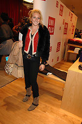 NATASHA CORRETT at a party to celebrate the opening of the new Uniqlo store at 331 Oxford Street, London W1 on 6th November 2007.<br />