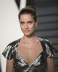 February 26, 2017 - Beverly Hills, California, U.S - Amanda Peet  on the red carpet at the 2017 Vanity Fair Oscar Party held at the Wallis Annenberg Center in Beverly Hills, California, Sunday February 26, 2017. (Credit Image: © Prensa Internacional via ZUMA Wire)