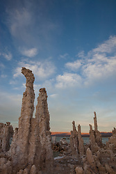 """Tufas at Mono Lake 15"" - These tufas were photographed at the South Tufa area in Mono Lake, California."