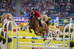 Schwizer Pius, SUI, Ulane Belmaniere<br /> CHIO Aachen 2019<br /> Weltfest des Pferdesports<br /> © Hippo Foto - Dirk Caremans<br /> Schwizer Pius, SUI, Ulane Belmaniere