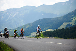 Ashleigh Moolman Pasio (RSA) in the final kilometre of the climb at La Course by Le Tour de France 2018, a 112.5 km road race from Annecy to Le Grand Bornand, France on July 17, 2018. Photo by Sean Robinson/velofocus.com