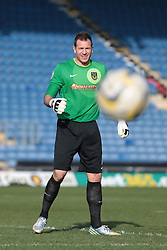 Oxford United goalkeeper Ryan Clarke (1)  - Photo mandatory by-line: Nigel Pitts-Drake/JMP - Tel: Mobile: 07966 386802 08/03/2014 - SPORT - FOOTBALL -  Kassam Stadium - Oxford - Oxford United v Burton Albion - Sky Bet League Two