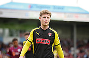 Rotherham United midfielder Matt Palmer (8) during the EFL Sky Bet League 1 match between Scunthorpe United and Rotherham United at Glanford Park, Scunthorpe, England on 12 May 2018. Picture by Nigel Cole.