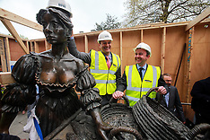 The removal of the Molly Malone Statue to facilitate Luas Cross City Works.