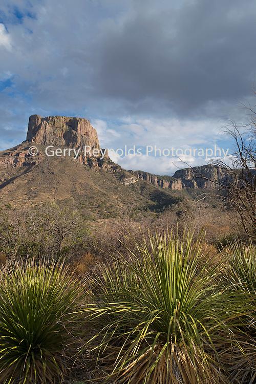 Casa Grande Peak, Chisos Basin, Big Bend National Park, Texas, USA , Casa Grande, Casa Grande Peak, Chisos Basin, Big Bend National Park, Texas, USA