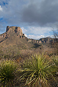 Casa Grande Peak, Chisos Basin, Big Bend National Park, Texas, USA , Casa Grande, Casa Grande Peak, Chisos Basin, Big Bend National Park, Texas, USA