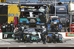 March 10, 2018 - Avondale, Arizona, United States of America - March 10, 2018 - Avondale, Arizona, USA: Ryan Truex (11) brings his car down pit road for service during the DC Solar 200 at ISM Raceway in Avondale, Arizona. (Credit Image: © Chris Owens Asp Inc/ASP via ZUMA Wire)