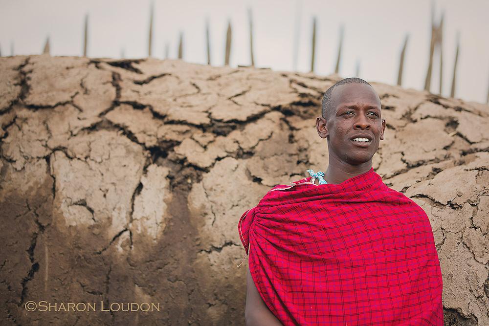 Maasai host, Tanzania