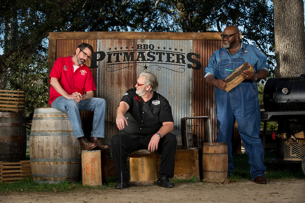 BBQ Pitmasters Season 6. Photographed in Austin, Texas on February 10, 2015. Photograph by Darren Carroll.