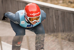 February 7, 2019 - Ljubno, Savinjska, Slovenia - Katharina Althaus of Germany competes on qualification day of the FIS Ski Jumping World Cup Ladies Ljubno on February 7, 2019 in Ljubno, Slovenia. (Credit Image: © Rok Rakun/Pacific Press via ZUMA Wire)