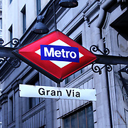 Metro Gran Via, Madrid ©Guillermo Trillo/ NwnPhoto