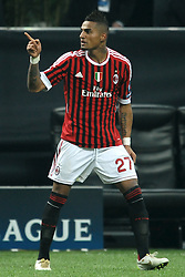 23.11.2011, Giuseppe Meazza Stadion, Mailand, ITA, UEFA CL, Gruppe H, AC Mailand (ITA) vs FC Barcelona (ESP), im Bild Esultanza di Kevin Prince BOATENG dopo il gol, Goal celebration // during the football match of UEFA Champions league, group H, between Gruppe H, AC Mailand (ITA) and FC Barcelona (ESP) at Giuseppe Meazza Stadium, Milan, Italy on 2011/11/23. EXPA Pictures © 2011, PhotoCredit: EXPA/ Insidefoto/ Andrea Staccioli..***** ATTENTION - for AUT, SLO, CRO, SRB, SUI and SWE only *****