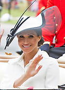 Meghan Markle Attends Her 1st Royal Ascot