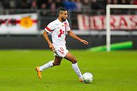 Chaid BELGHAZOUANI  - 20.12.2014 - Brest / Ajaccio - 18eme journee de Ligue 2 -<br /> Photo : Vincent Michel / Icon Sport
