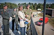Koningin Maxima bezoekt het Nationaal Trainingscentrum CBRN
