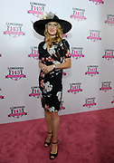 Stefanie Graf, tennis legend and Longines Ambassador of Elegance, poses on the pink carpet on Longines Kentucky Oaks Day, Friday, May 5, 2017, in Louisville, KY. Longines, the Swiss watch manufacturer known for its luxury timepieces, is the Official Watch and Timekeeper of the 143rd annual Kentucky Derby. (Photo by Diane Bondareff/AP Images for Longines)