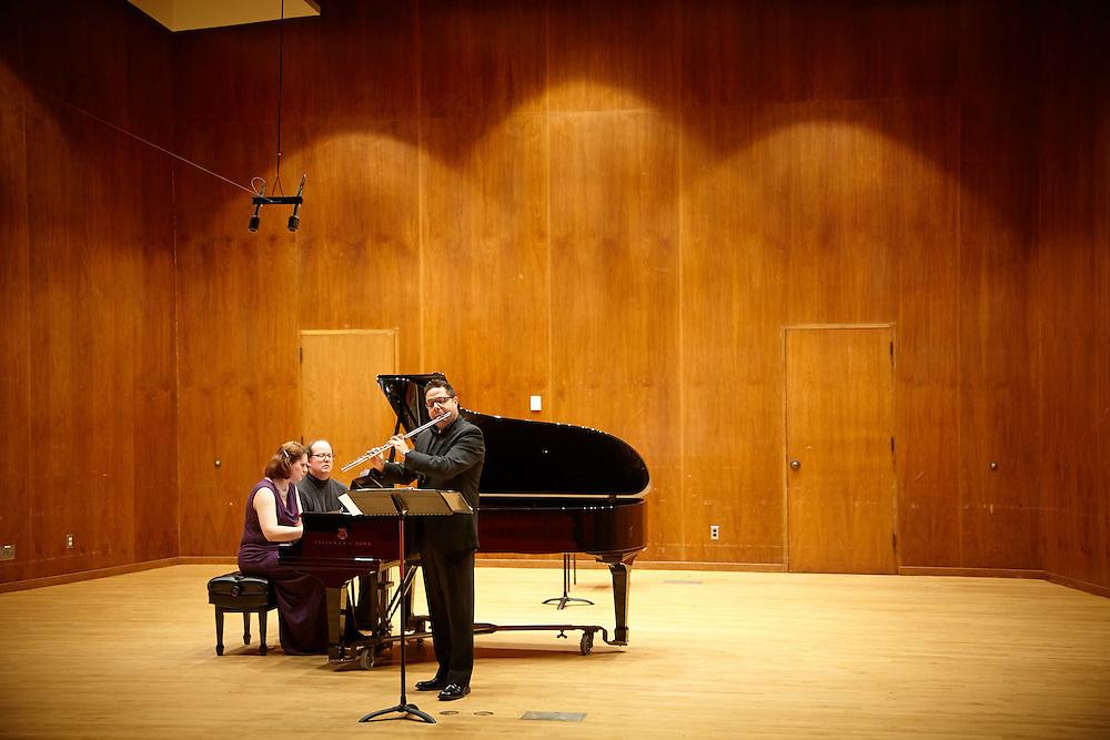 Activity; Music; Buildings; Center for the Arts CFA; Location; Inside; People; Professor; UWL UW-L UW-La Crosse University of Wisconsin-La Crosse; Type of Photography; Candid; Spring; March