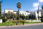 Greek Theatrical Museum (Museum and Study Centre of the Greek Theatre), Akadimias street, Athens, Greece