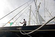 Paul onboard Klosters