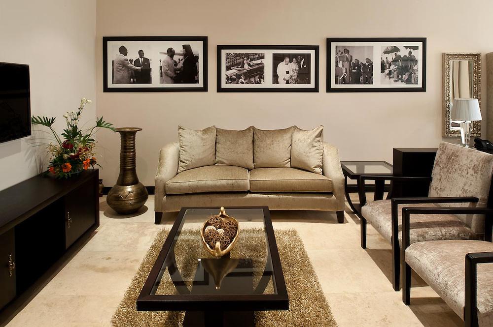Kwame Nkrumah room photos at Villa Monticello, Accra, Ghana