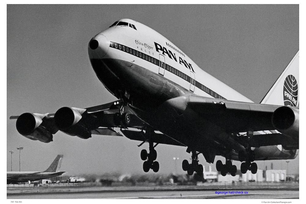 Pan Am 747 Takeoff
