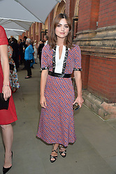 JENNA COLEMAN at the V&A Summer Party in association with Harrod's held at The V&A Museum, London on 22nd June 2016.