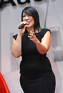 Kate Ceberano sings to open the Audi Launch.Media Preview .Melbourne International Motorshow.Melbourne Exhibition Centre.Clarendon St, Southbank, Melbourne .Friday 27th of February 2009.(C) Joel Strickland Photographics.