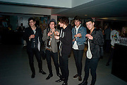 DANNYBOY VARLEY, KIERAN KEARNS, CALUM CROSSLEY, TOM BOB, LYLE MERRITT. A very Private Affair, Agent Provocateur in association with arena magazine. Spring/Summer collection party. Louise T. Blouin Foundation. 3 Olaf St. London. 1 April 2008. *** Local Caption *** -DO NOT ARCHIVE-© Copyright Photograph by Dafydd Jones. 248 Clapham Rd. London SW9 0PZ. Tel 0207 820 0771. www.dafjones.com.