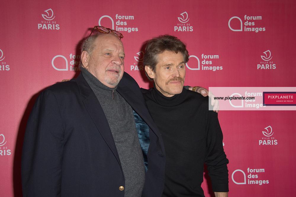 Willem Dafoe - Paul Schrader Rétrospective Paul Schrader et présentation du film Light Sleeper avec Willem Dafoe Jeudi 9 Janvier 2020 Forum des images Paris