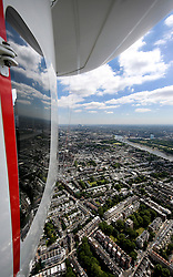 UK ENGLAND LONDON 22JUL08 - Aerial view over London from the 'Star over London' zeppelin flight route over central London. ..jre/Photo by Jiri Rezac..© Jiri Rezac 2008..Contact: +44 (0) 7050 110 417.Mobile:  +44 (0) 7801 337 683.Office:  +44 (0) 20 8968 9635..Email:   jiri@jirirezac.com.Web:    www.jirirezac.com..© All images Jiri Rezac 2008 - All rights reserved.
