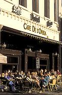 Europe, Belgium, Brussels, Cafe de l'Opera at Place de la Monnaie. -..Europa, Belgien, Bruessel, Cafe de l'Opera am Place de la Monnaie.