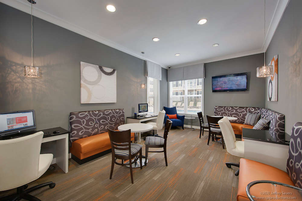 Architectural Interior of Creekside Village Apartments in Glen Burnie Maryland by Jeffrey Sauers of Commercial Photographics, Architectural Photo Artistry in Washington DC, Virginia to Florida and PA to New England