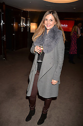 Gina Harding at a private screening of Jackie hosted by Rosie Nixon and Tabitha Webb at the Bulgari Hotel, 171 Knightsbridge, London,  England. 12 January 2017.