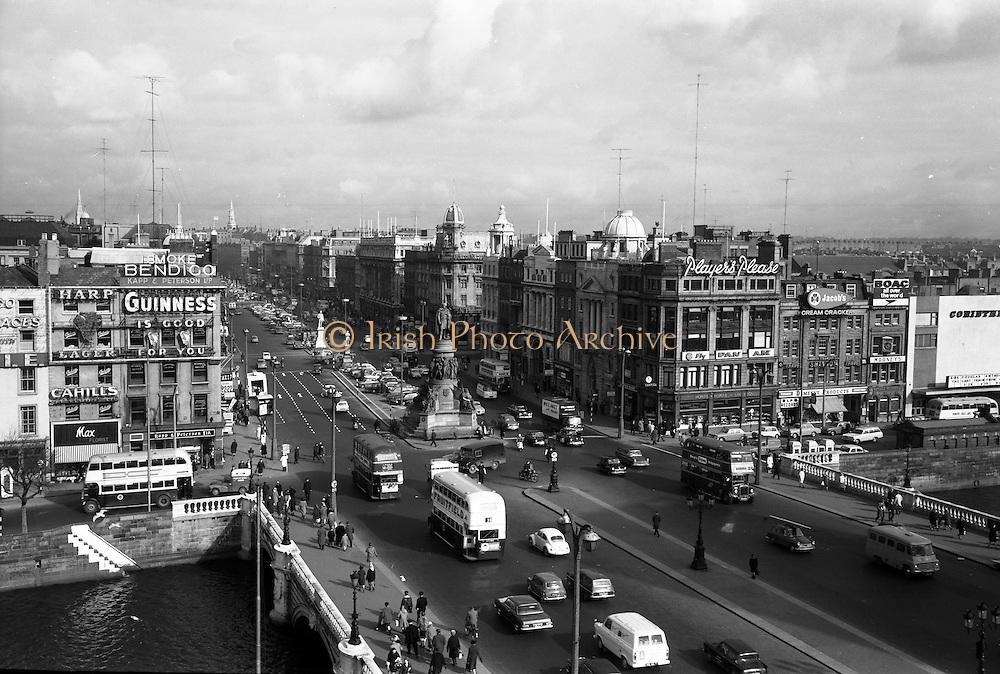 22/03/1966<br /> 03/22/1966<br /> 22 March 1966<br /> Views of O'Connell Street, Dublin following the removal of the ruins of Nelson's Pillar.