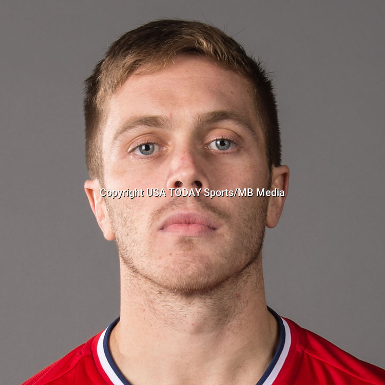Feb 25, 2016; USA; Chicago Fire player Michael Stephens poses for a photo. Mandatory Credit: USA TODAY Sports