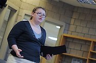 Images from the Ada-Borup speech program's public showcase.