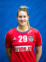 28.05.2016, BSFZ Südstadt, Maria Enzersdorf, AUT, ÖHB, Fototermin Frauen Nationalteam, im Bild Ines Ivancok // during the Team and Portrait Photoshoot of the Austrian women' s handball National Team at the BSFZ Südstadt, Maria Enzersdorf, Austria on 2016/05/28, EXPA Pictures © 2016, PhotoCredit: EXPA/ Sebastian Pucher