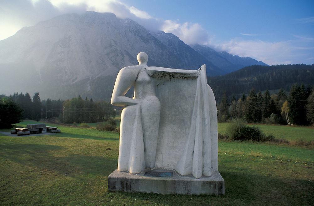 Sculpture, near Tauplitz, Steiermark, Austria