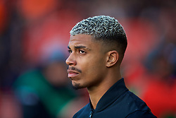 SOUTHAMPTON, ENGLAND - Sunday, February 11, 2018: Southampton's Mario Lemina during the FA Premier League match between Southampton FC and Liverpool FC at St. Mary's Stadium. (Pic by David Rawcliffe/Propaganda)