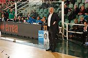 DESCRIZIONE : Avellino Lega A 2014-15 Sidigas Avellino Banco di Sardegna Sassari<br /> GIOCATORE : Romeo Sacchetti<br /> CATEGORIA : ritratto delusione<br /> SQUADRA : Banco di Sardegna Sassari<br /> EVENTO : Campionato Lega A 2014-2015<br /> GARA : Sidigas Avellino Banco di Sardegna Sassari<br /> DATA : 15/03/2015<br /> SPORT : Pallacanestro <br /> AUTORE : Agenzia Ciamillo-Castoria/A. De Lise<br /> Galleria : Lega Basket A 2014-2015 <br /> Fotonotizia : Avellino Lega A 2014-15 Sidigas Avellino Banco di Sardegna Sassari