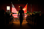 Service (Funeral) for Lt. Nicolas Madrazo of Bothell, Washington. Killed in Action September 9, 2008 in Afghanistan...Westminster Chapel, Bellevue, Washington.
