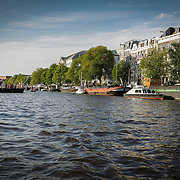 NLD/Amsterdam/20120812 - Varen door de Amsterdamse grachten