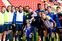 Bristol Rovers fans meet the players at Doncaster Rovers - Mandatory by-line: Robbie Stephenson/JMP - 19/10/2019 - FOOTBALL - The Keepmoat Stadium - Doncaster, England - Doncaster Rovers v Bristol Rovers - Sky Bet League One